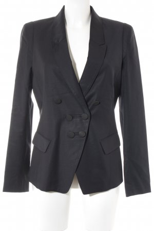 Paul & Joe Smoking-Blazer schwarz Business-Look