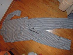 Pyjama white-grey