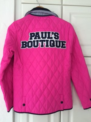 Paul`s Boutique Steppjacke, pink, Größe M