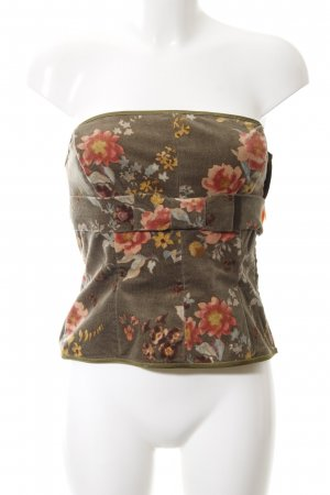 Paul Smith Bandeau top bloemenprint extravagante stijl