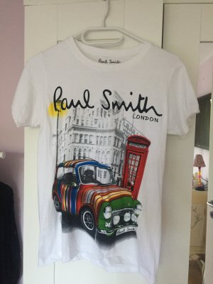 Paul Smith Baumwollshirt in weiß