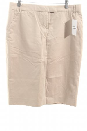Paul Smith Bleistiftrock creme Casual-Look