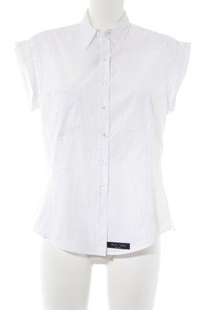 Paul Smith Kurzarm-Bluse weiß Elegant