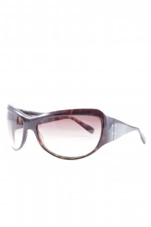 Paul Smith Retro Brille dunkelbraun Casual-Look