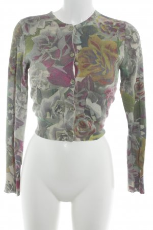 Paul Smith Strick Cardigan Blumenmuster Romantik-Look