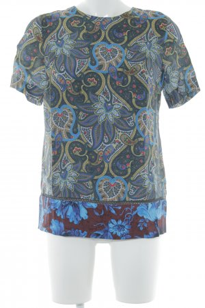Paul Smith T-Shirt Paisleymuster Casual-Look