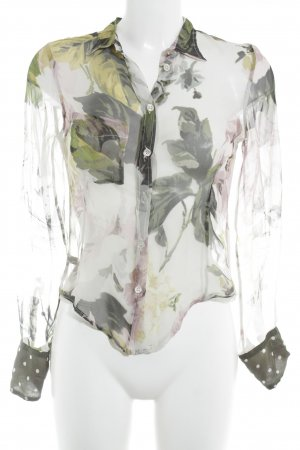 Paul Smith Transparenz-Bluse Allover-Druck Boho-Look