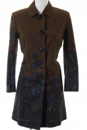 Paul Smith Trenchcoat Blumenmuster Street-Fashion-Look
