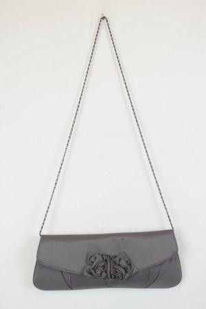 Bolso gris oscuro fibra textil