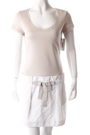 Paule Ka Minikleid beige-weiß