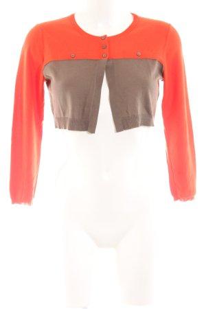 Paule ka Knitted Bolero light orange-brown elegant