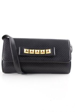 Pauls Boutique Clutch schwarz klassischer Stil
