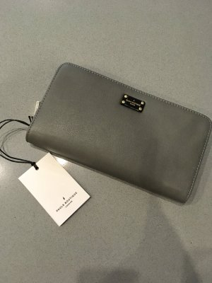 Pauls Boutique London Geldbeutel Portmonee clutch neu grau pink orange Blogger