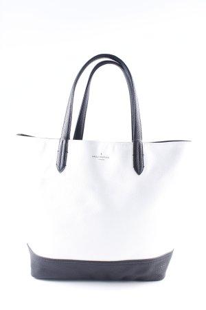 Pauls Boutique Tote weiß-schwarz klassischer Stil