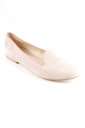 Pavement Opbouwbare ballerina's neonroos-stoffig roze colour blocking elegant