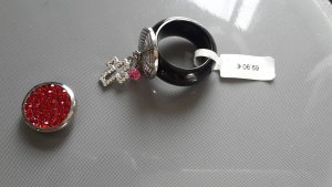 Pavo Real Ring und 2 Aufsätze Wechselring