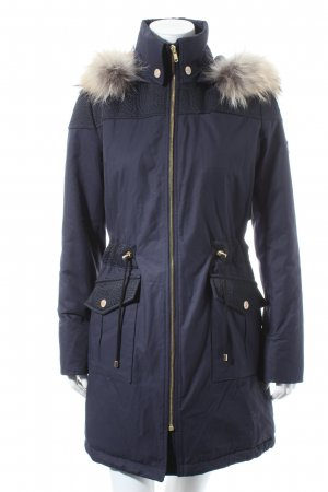 Pavuna Parka dark blue fluffy