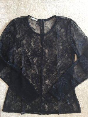 Philosophy Blues Original Kanten blouse zwart