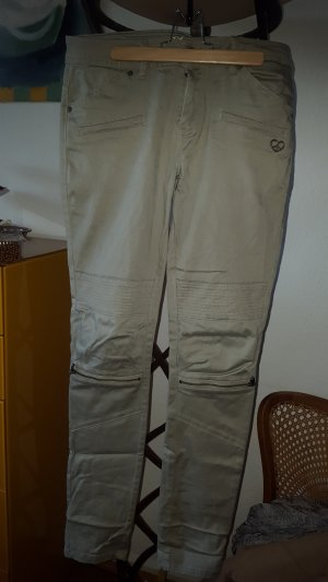 Peace n Love Pantalone cargo cachi Cotone