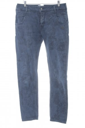 Peace n Love High Waist Jeans dunkelblau Casual-Look