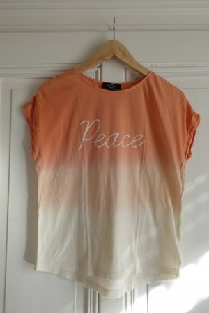PEACE Print-Shirt in ombre