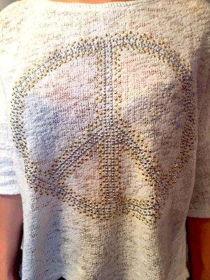 Peace Zeichen Pullover