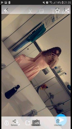 Peach farbenes Kleid Größe S
