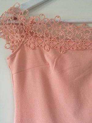 Peachfarbendes Enges Kleid von Emamoda