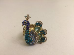 Peacock Statement Ring