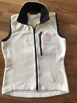 Peak performance Fleece vest wolwit Polyester