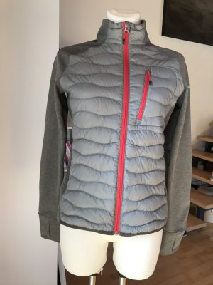 Peak Performance Heli Hybrid Golf Jacke grau Daunen