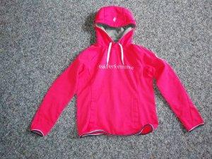 Peak Performance Hoodie pink/weiß S