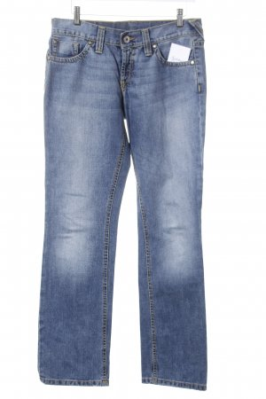 Peak performance Hüftjeans blassblau Casual-Look
