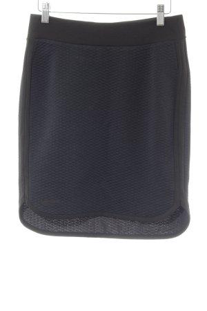 Peak performance Mini-jupe bleu foncé-noir motif à carreaux style athlétique