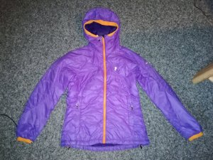 Peak Performance Primaloftjacke lila/orange S
