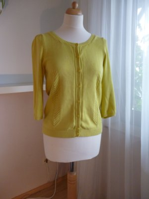Peak Performance Strickjacke in limettengelb, Gr. S