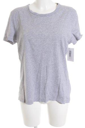 Peak performance T-Shirt hellgrau meliert schlichter Stil
