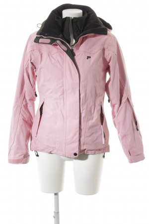 Peak performance Winterjacke rosa Casual-Look