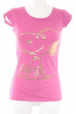 Peanuts T-Shirt pink-goldfarben Casual-Look