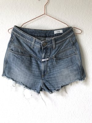 Pedal Pusher Vintage Denim Shorts