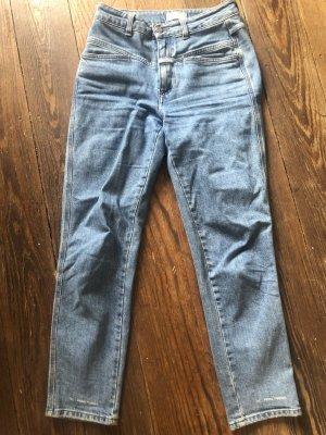 Closed Hoge taille jeans korenblauw