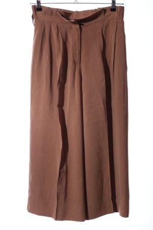 Pedro del Hierro Pantalone culotte marrone stile professionale