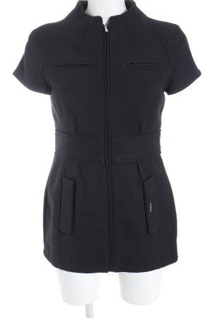 Pedro del Hierro Lange Jacke schwarz minimalistischer Stil