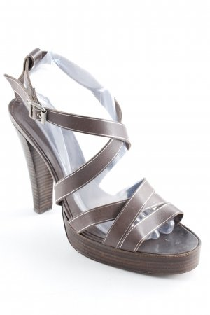 Pedro garcia High Heel Sandal brown casual look