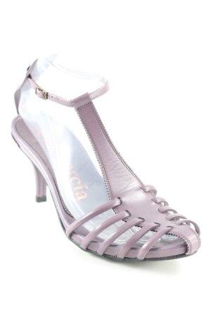 Pedro garcia High Heel Sandaletten grauviolett Elegant