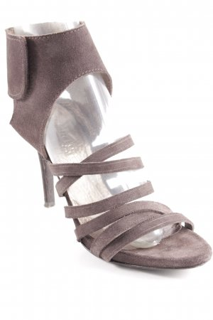 Pedro garcia High Heels dark brown elegant