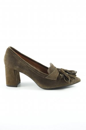 Pedro Miralles Loafers green grey street-fashion look