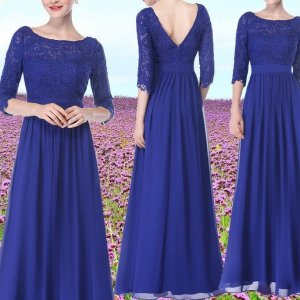 Peek&Cloppenburg Abendkleid 36 blau