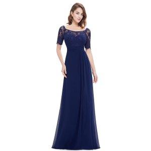 Peek&Cloppenburg Abendkleid blau 36 neu