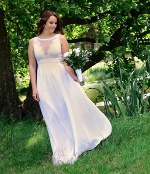 Peek & Cloppenburg Robe de mariée multicolore